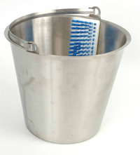 Bucket with Brush