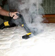 clean mattresses and kill bedbugs with the jetsteam steam vac