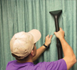 experts share curtain cleaning tips and ideas, including recommendations for the best equipment and attachments