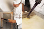 cleaning appliances and food handling surfaces within commercial kitchens