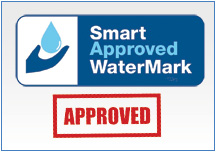 endorsed by smartwater as a machine which makes economical use of water