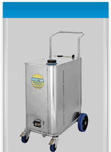 the dynamic bacchus Pro industrial steam generator and cleaning system