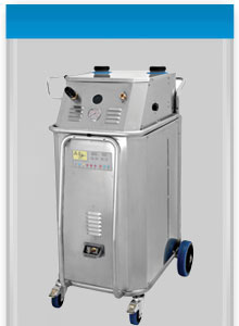 Industrial cleaning steam generator- the Bacchus Steam Power
