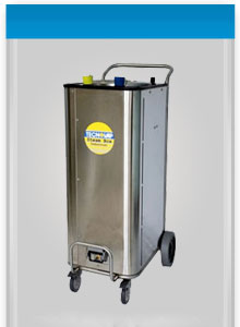The Bacchus Steam System- powerful, chemical-free industrial cleaning equipment for wine barrels