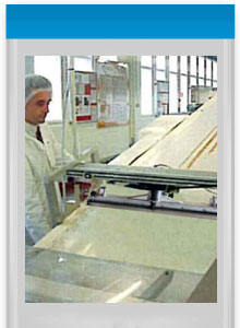 dedicated industrial cleaning equipment, designed for use on food conveyors