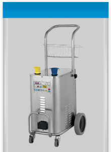 Jetsteam Inox, an Industrial Cleaning Machine