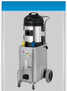 Jetvac Inox machine- built tough for heavy duty cleaning