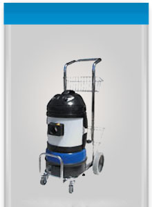 a trolley-mounted industrial steam cleaning machine