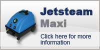 Domestic Cleaning with Jetsteam Maxi