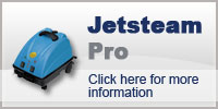 Domestic Cleaning with Jetsteam Pro