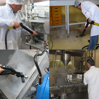 industrial cleaning equipment for the food processing industry, small factories and warehouses