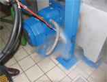 cleaning equipment for engineering industries and mechanic workshops