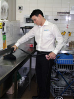 business opportunity to become a kitchen cleaner