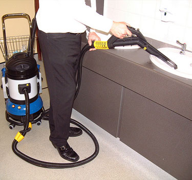 commercial and industrial cleaning contractor equipment