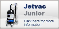 Domestic Cleaning with Jetvac Junior