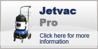 Domestic Cleaning with Jetvac Pro